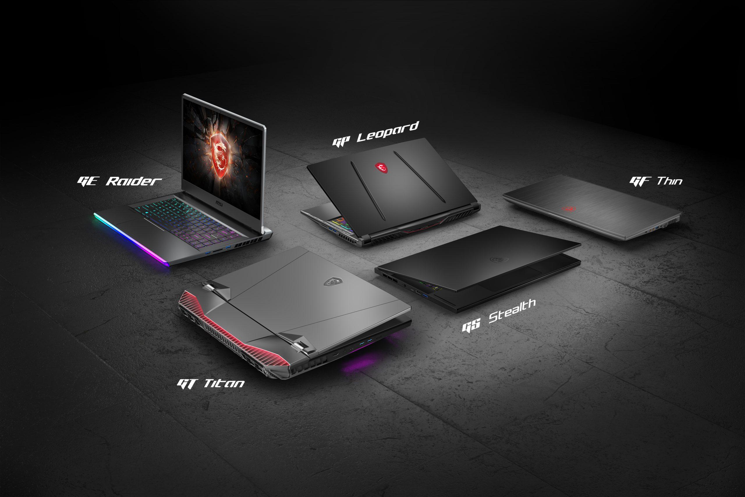 MSI_ Gaming Series laptops