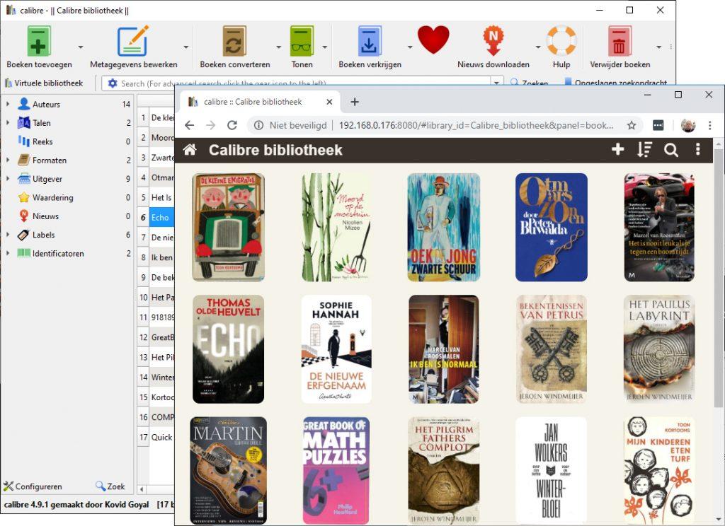 calibre ebooks lezen