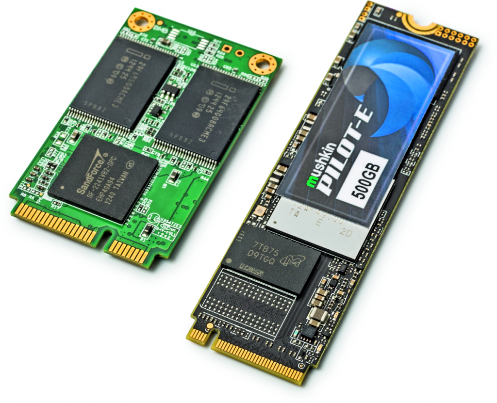 grote ssd 2TB 4TB test review aansluiting type