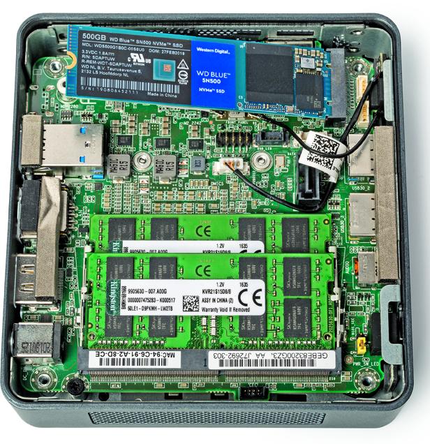 grote ssd test review snelle ssd NUC mini-pc veel opslag