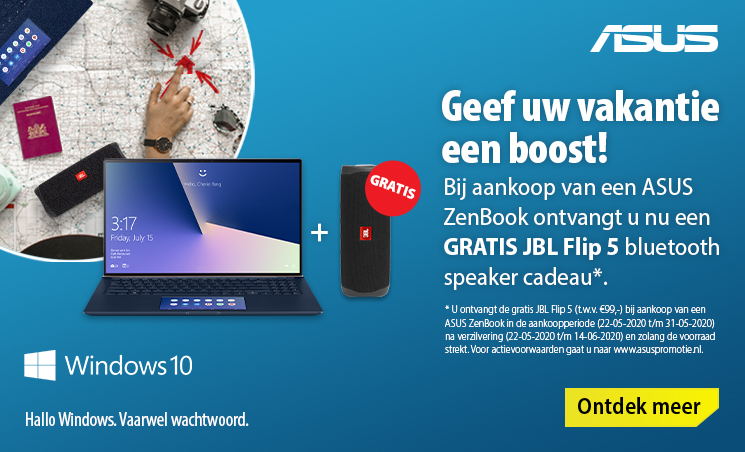 gratis bluetooth speaker laptop actie