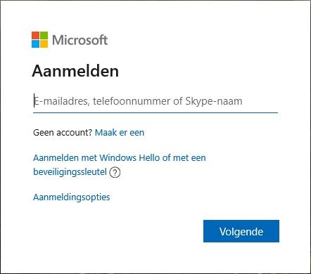 FIDO2 security key aanmelden zonder wachtwoord Edge Microsoft