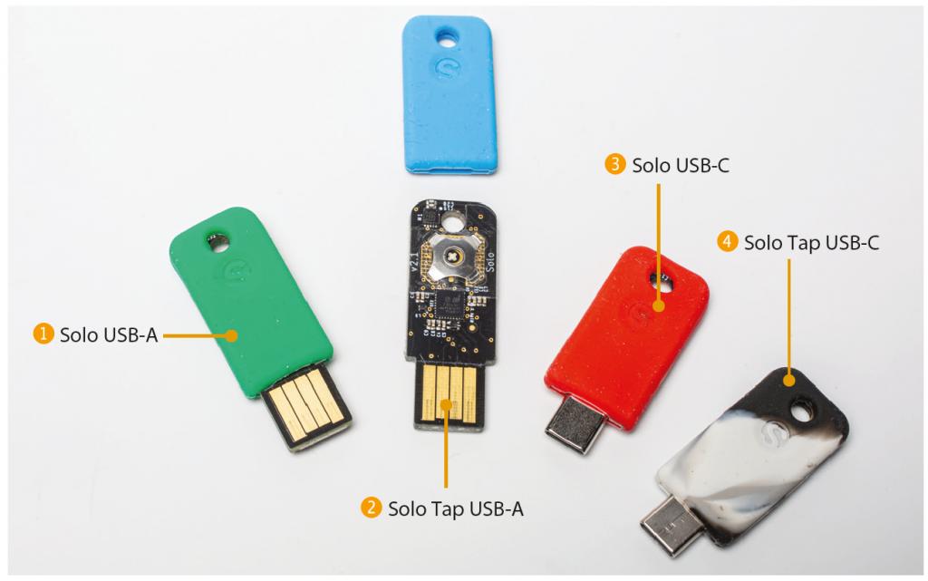 FIDO2 security key beveiligingssleutel Solo Solokey test review