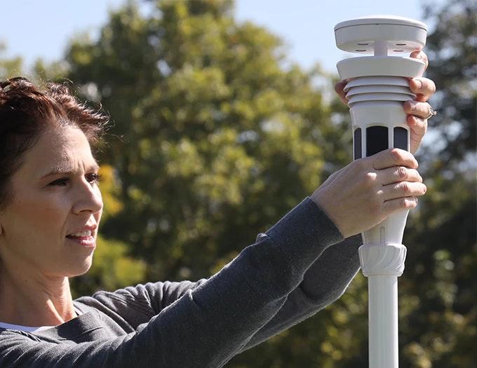 Tempest weerstation zonne-energie solar wifi app