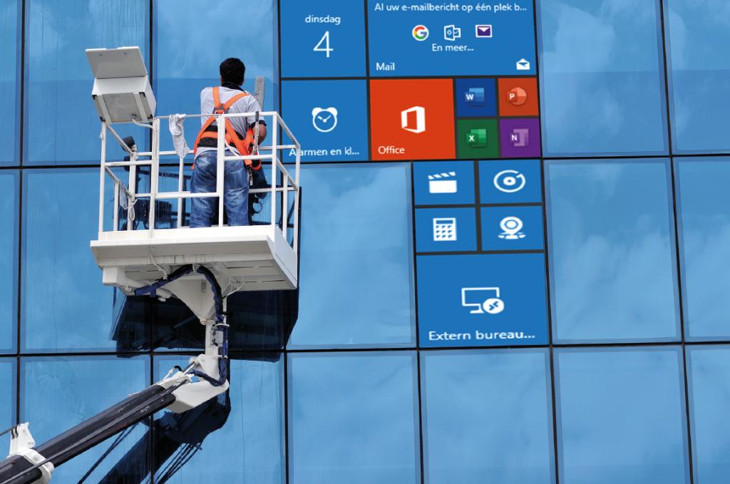 Windows startmenu aanpassen tegels wijzigen