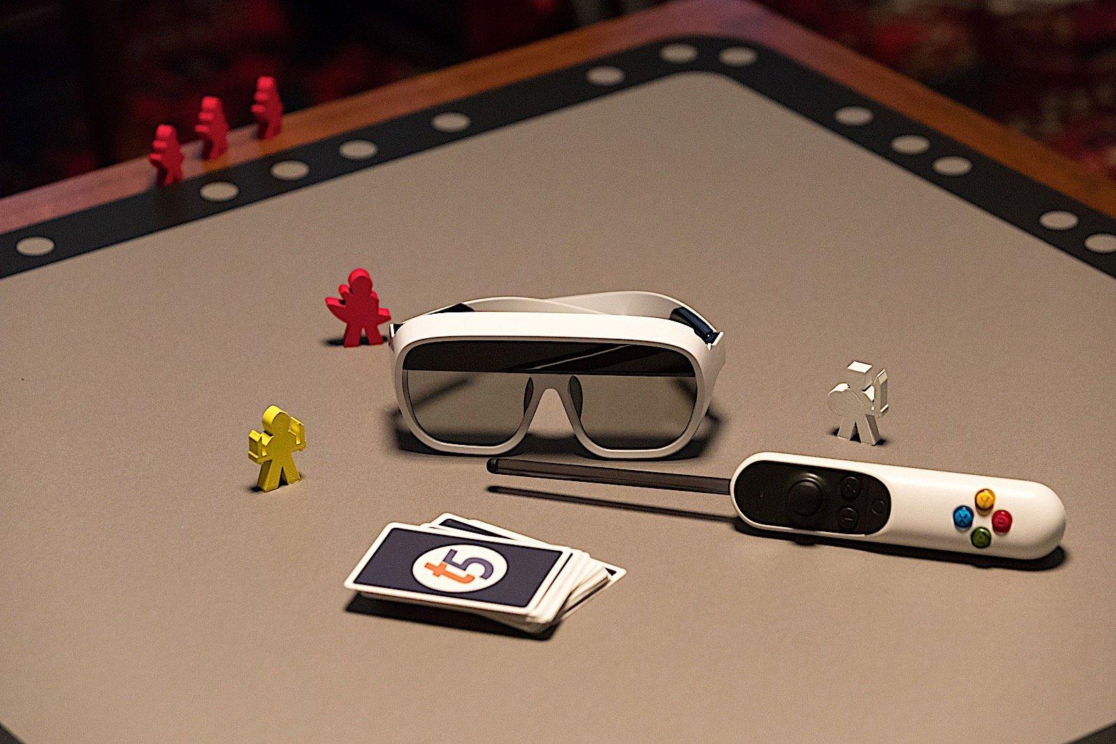 gadget tilt five AR bordspel
