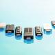Usb-sticks van 128 GB voor sneltransport