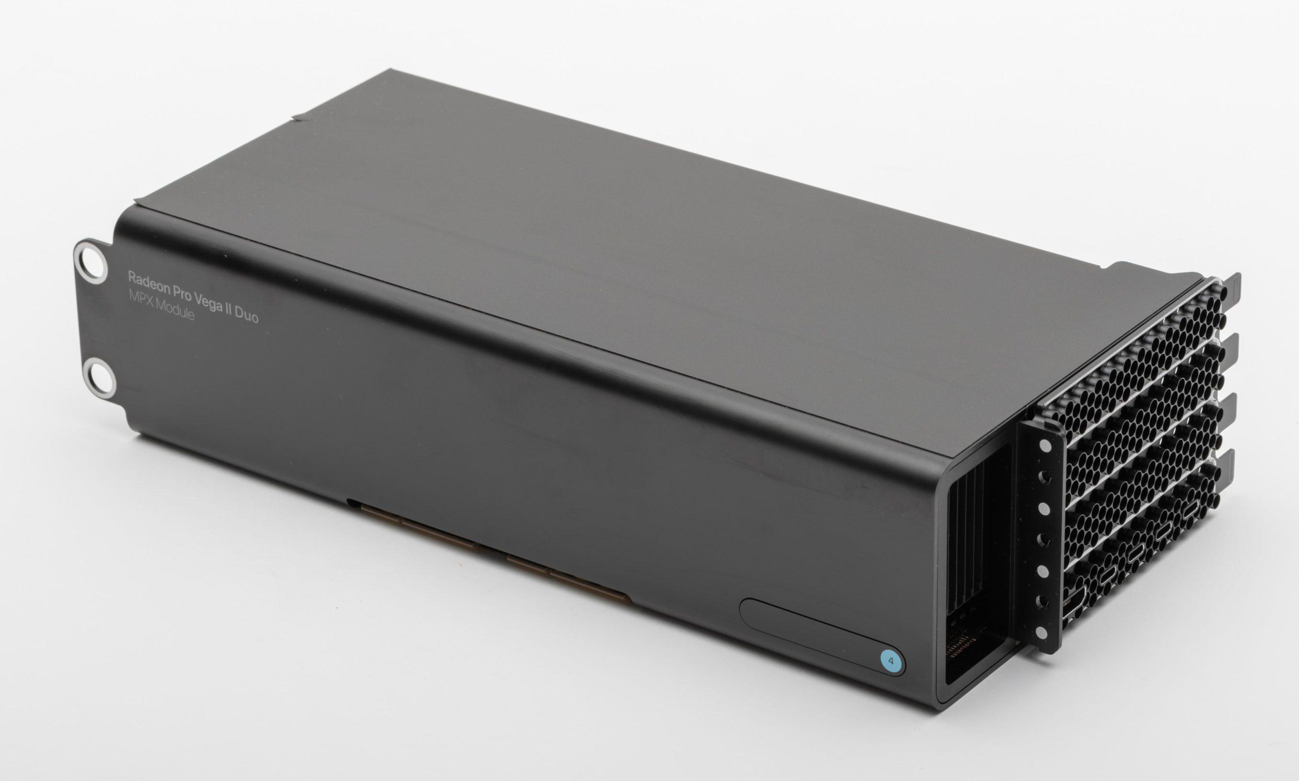 Mac Pro MPX module GPU