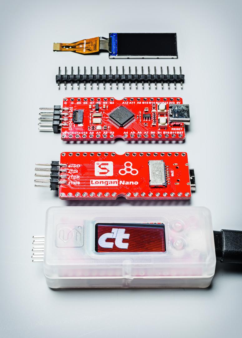 RISC V programmeren Longan Nano PlatformIO VSCode micro controllerboard