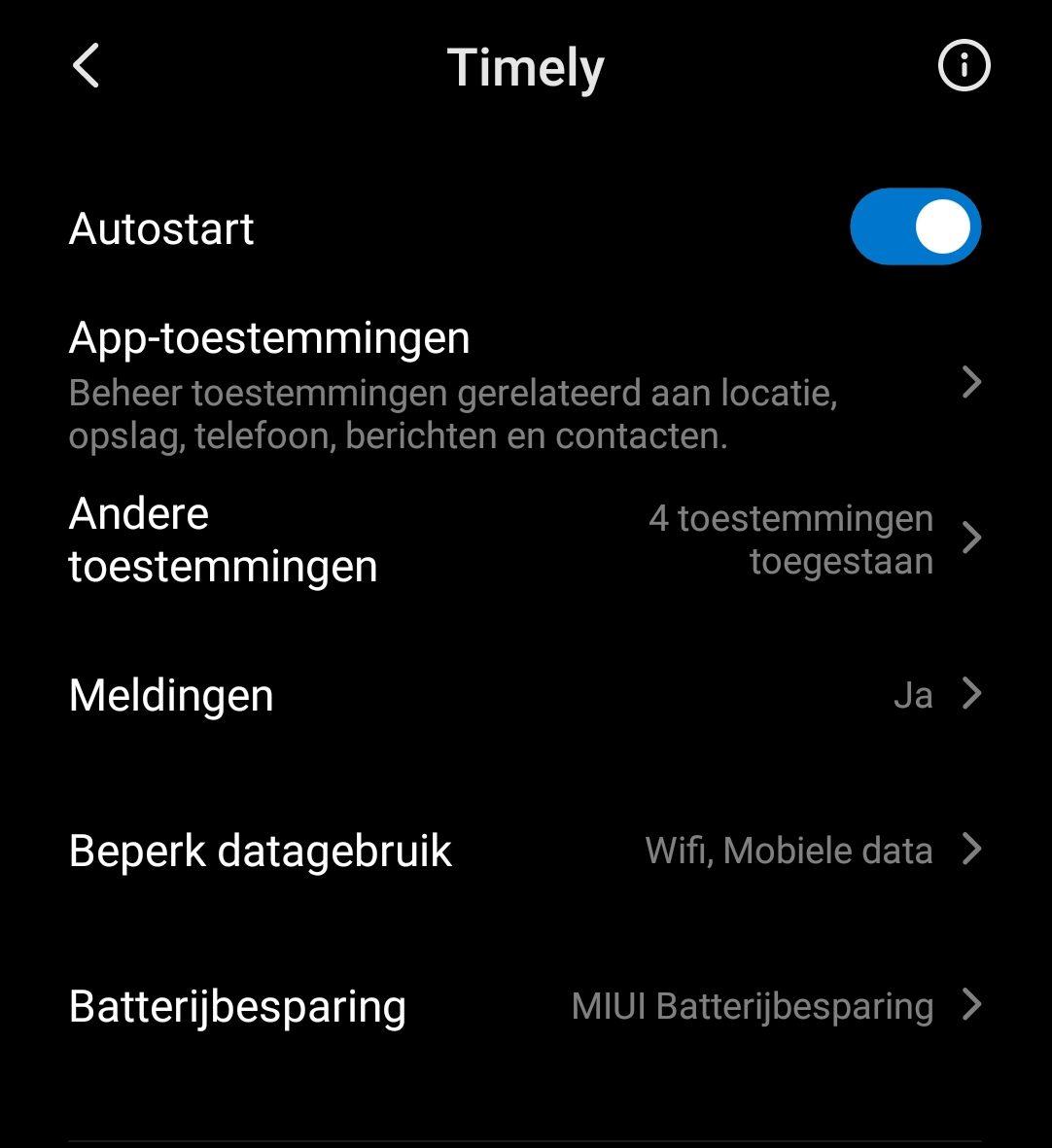 Wekker gaat niet af bij Android 10 geen alarm app