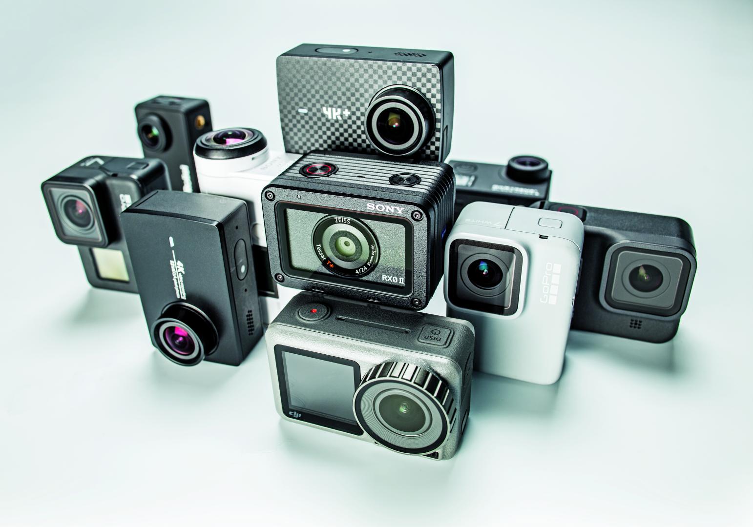 actioncam 4K full-hd praktijk vergelijkende test review resultaten