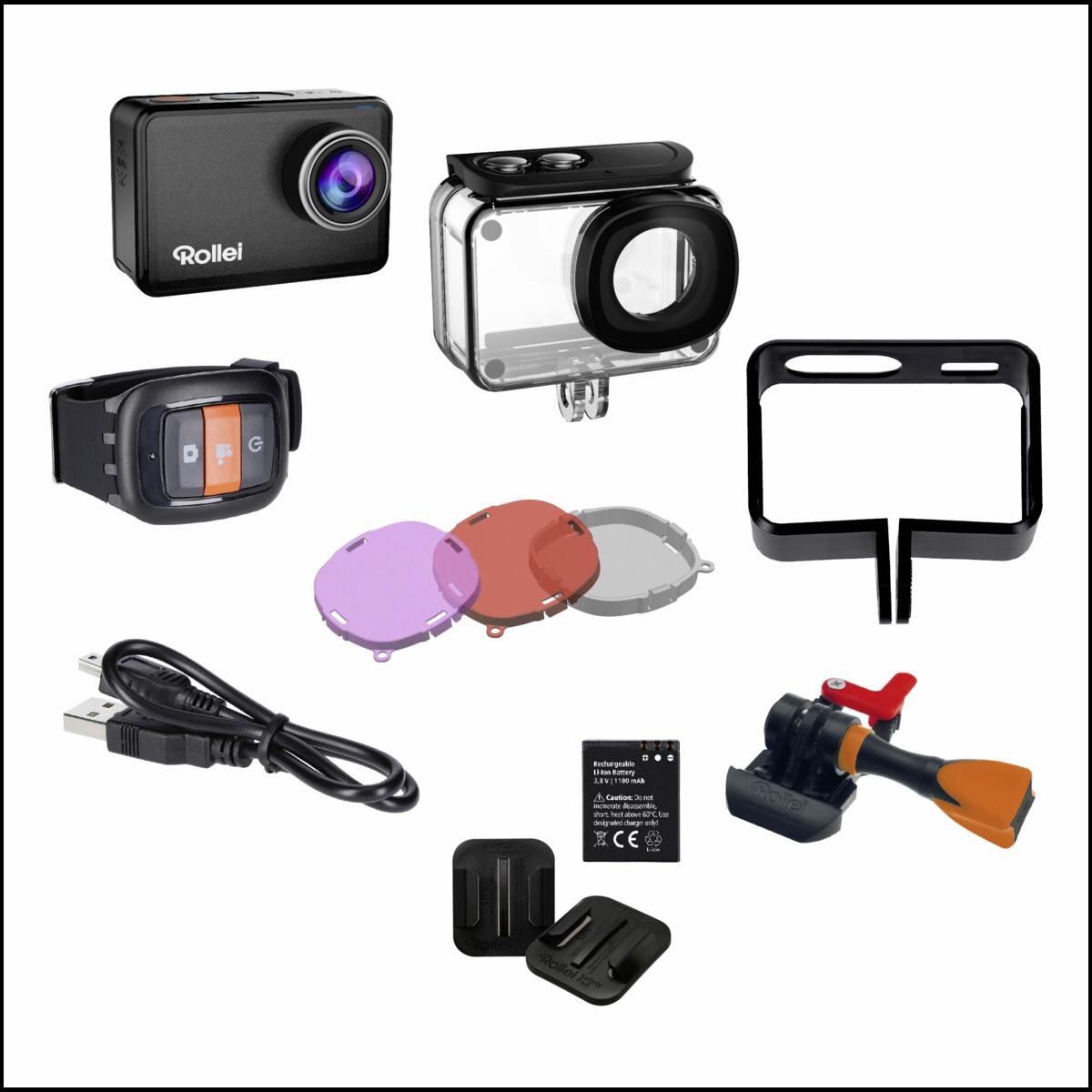 actioncam test review accessoires