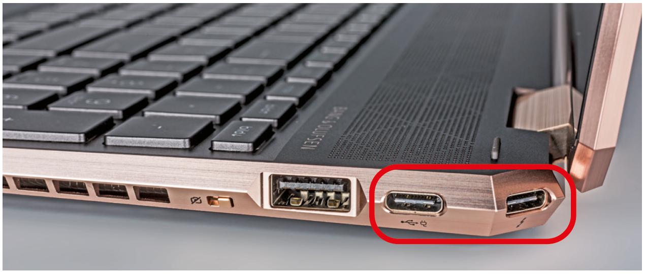 laptop kopen werk zakelijk docking station dock DisplayPort USB-C