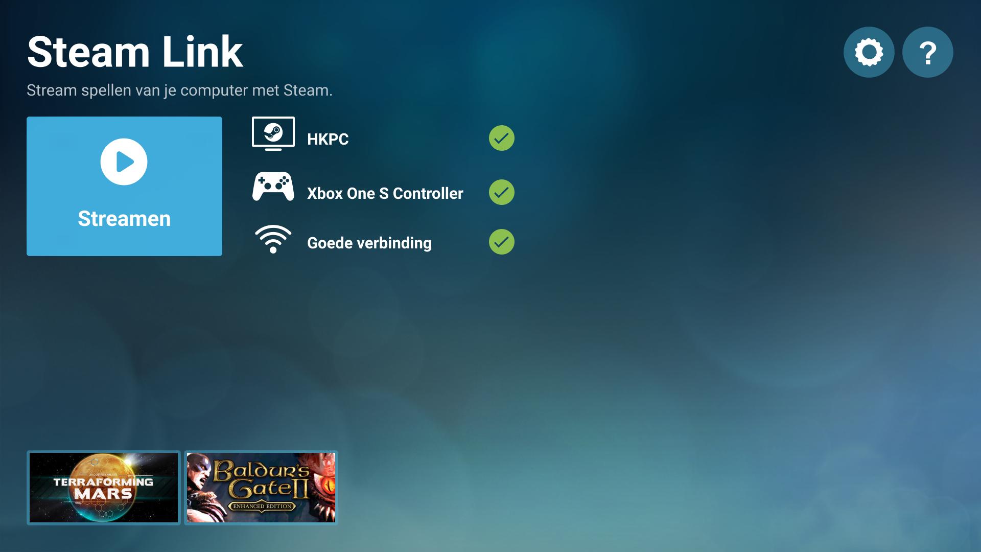 Chromebook pc Steam game Steam Link