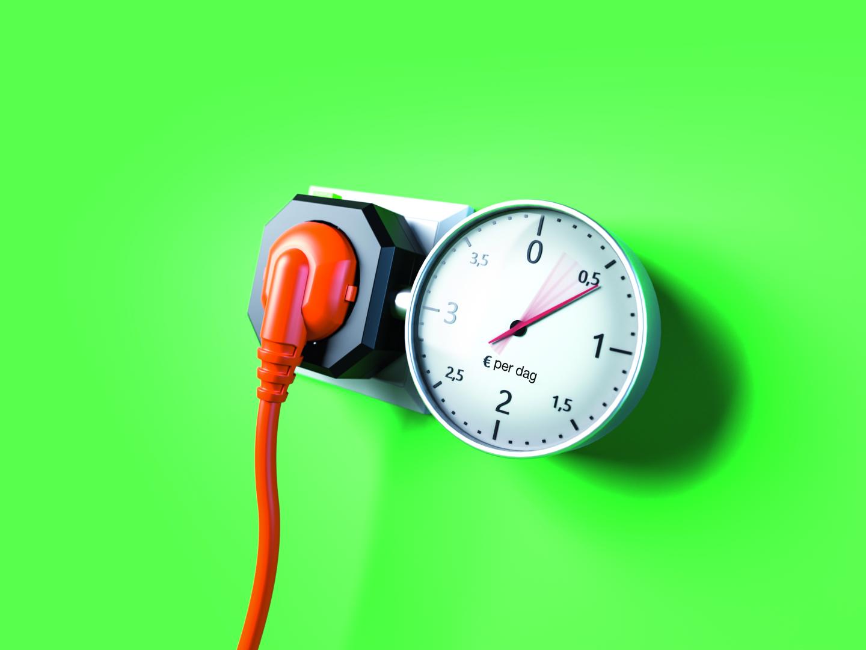 energiebesparing verbruiksmeter stroom besparen stroommeter stroomkosten stroomverbruik kWh
