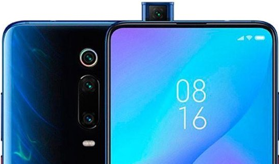 scherm zonder notch pop-up camera