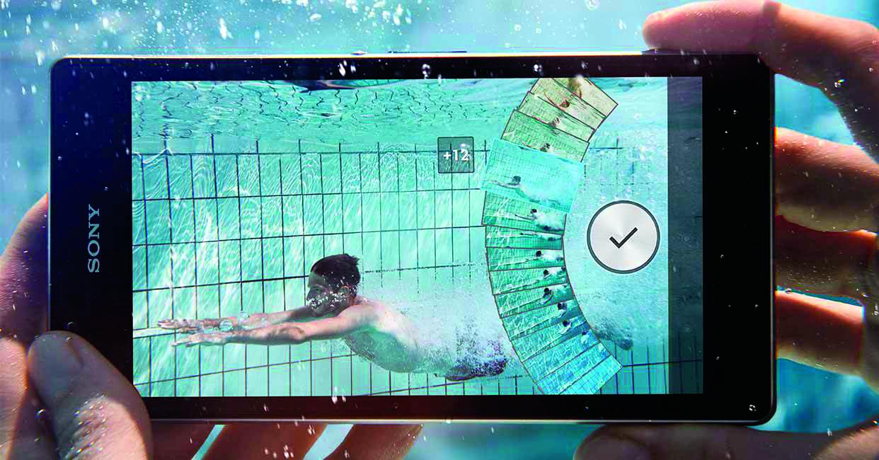 smartphone waterdicht camera fotograferen foto onder water