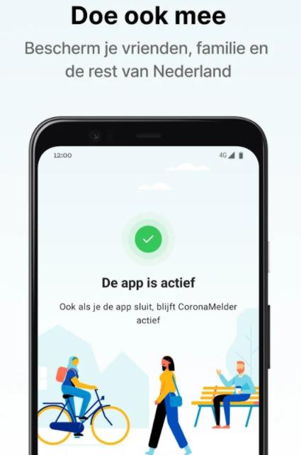 Corona-app test regio