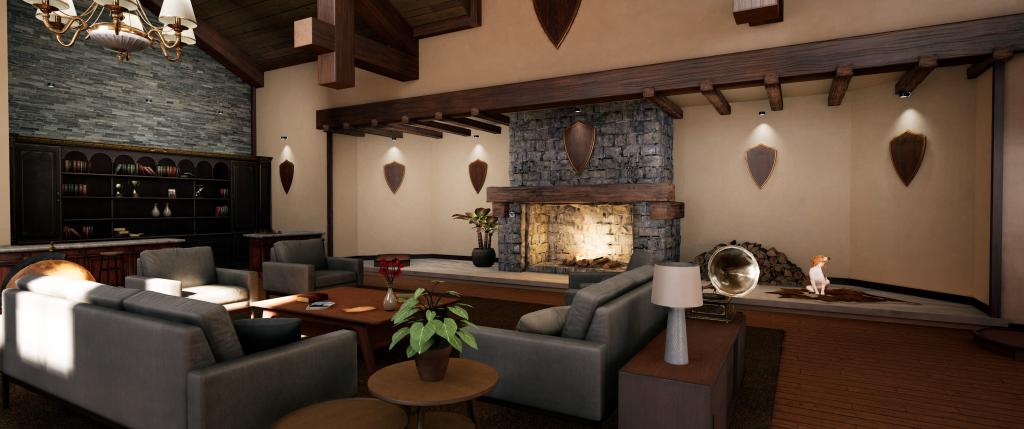 Hunting Simulator 2 - luxe blokhut thuisbasis