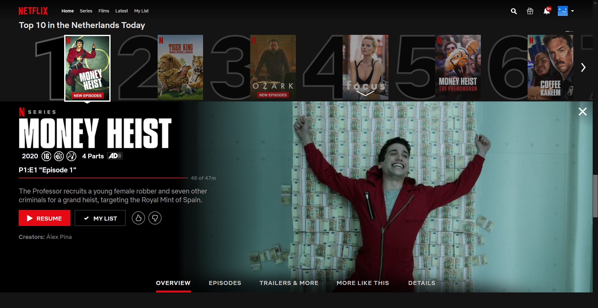 Netflix review videostreaming toplijst