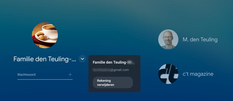 account gebruiker verwijderen Chromebook