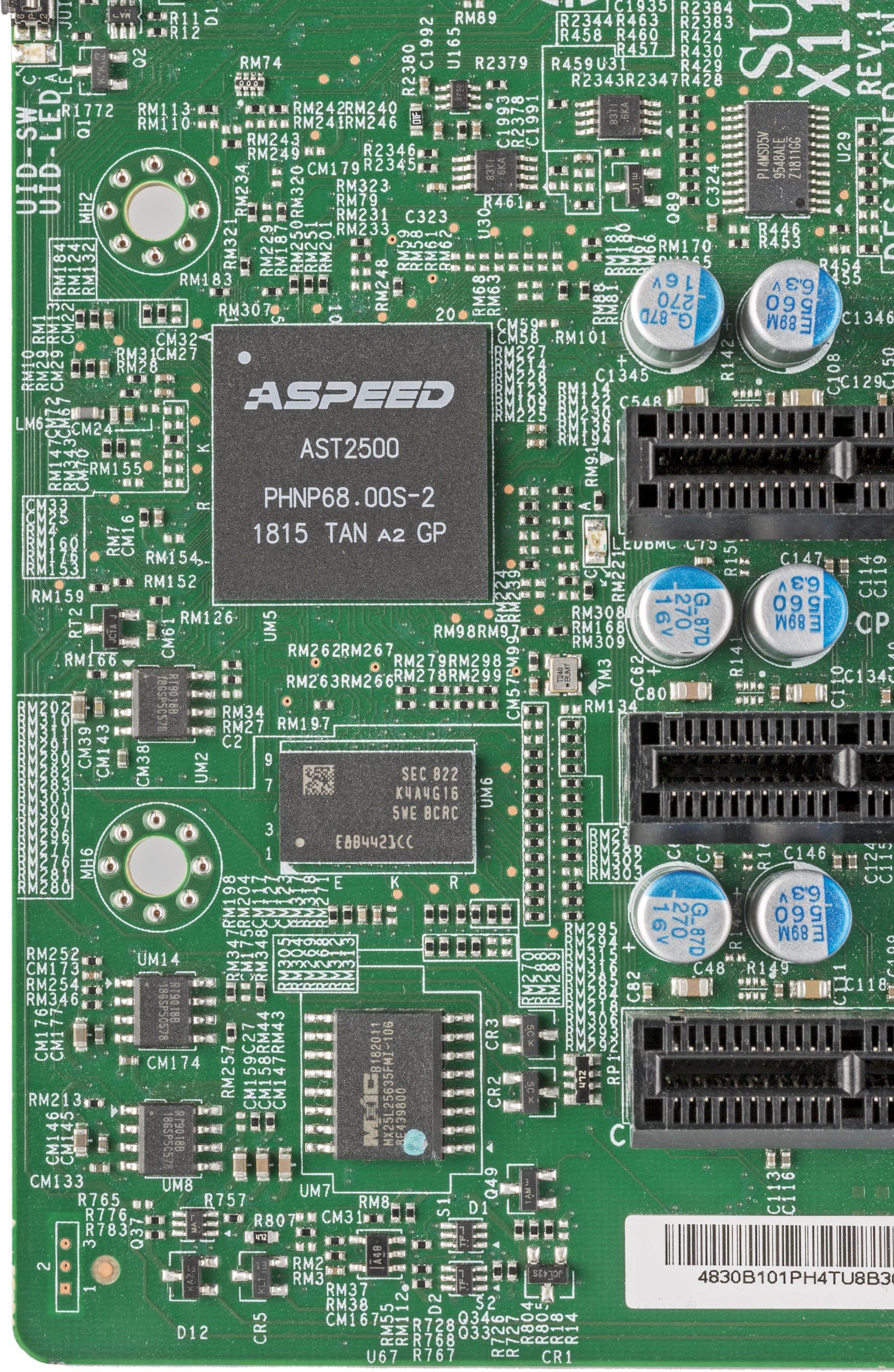 BMC ASpeed moederbord Redfish IPMI