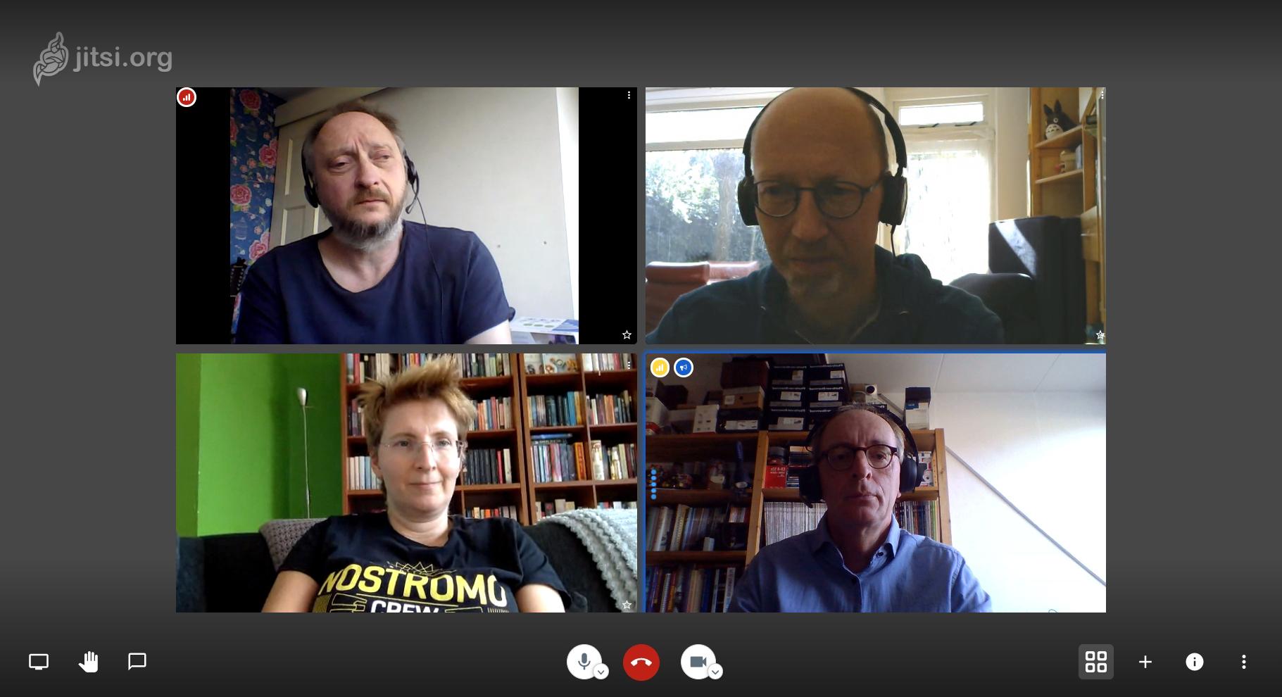 Jitsi server videoconferentie op eigen server
