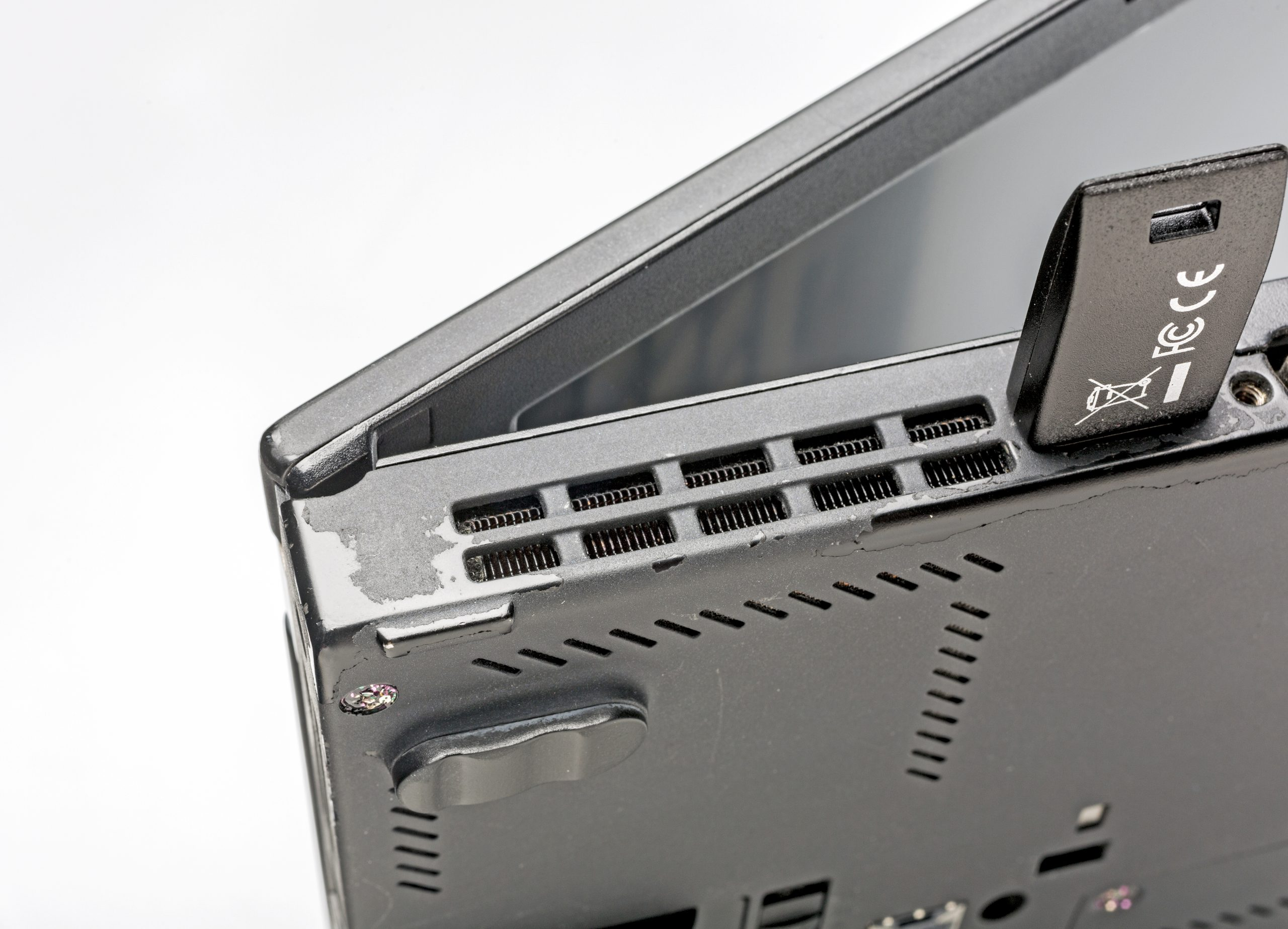 Nitrokey Nitropad gebruikte ThinkPad gebruikssporen