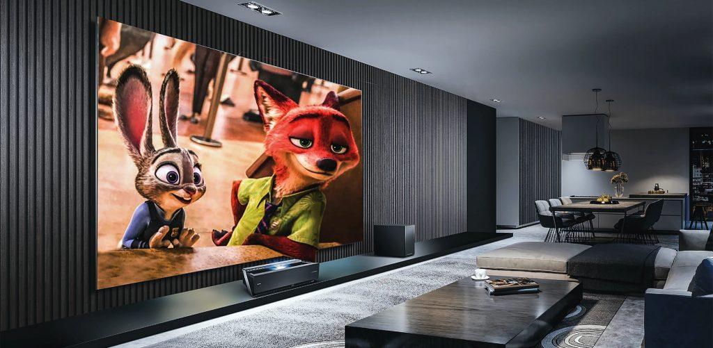 Thuisbioscoop home cinema