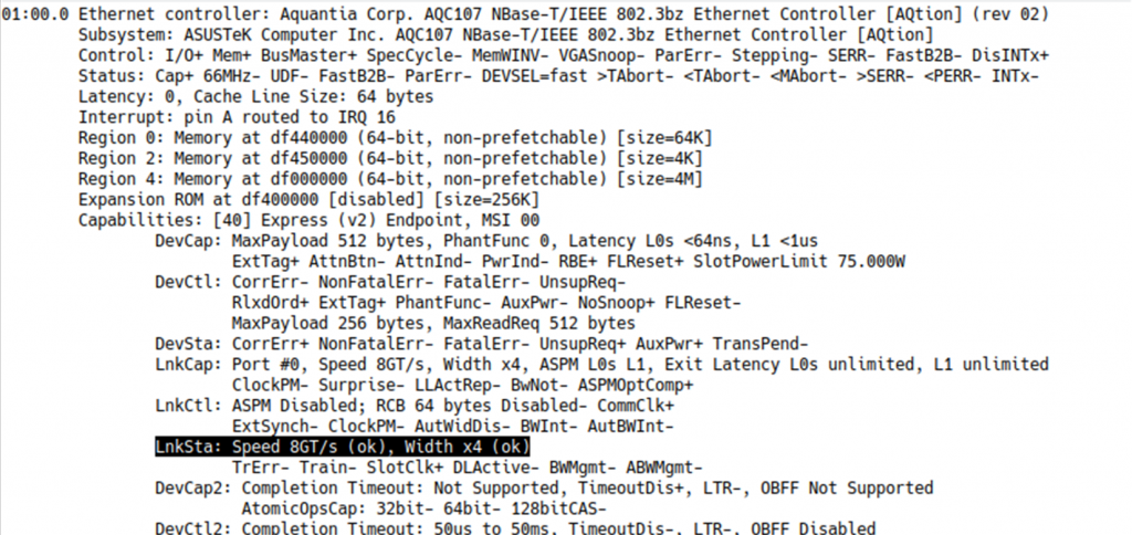 Linux command prompt