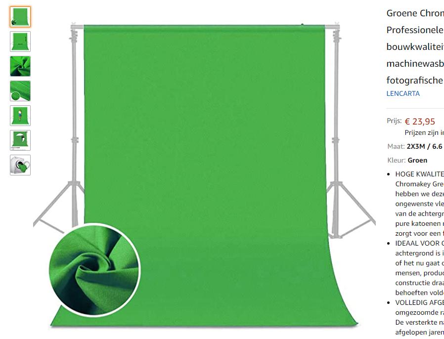 greenscreen bluescreen chromakey achtergrond