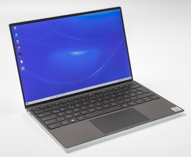 laptop met dunne schermranden Dell XPS 13 (9300) 2020 model test dell_pfad_109377_mue_jg_pr