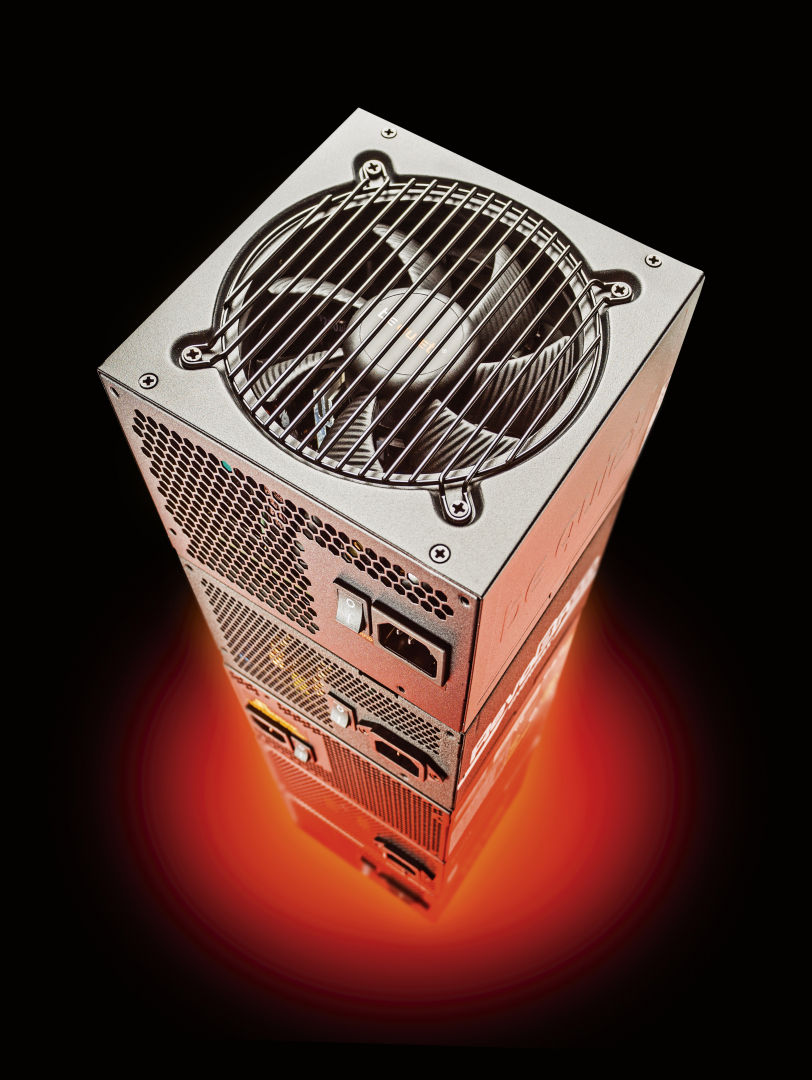 pc voeding 500 watt test review stille zuinige PSU ATX 80 Plus
