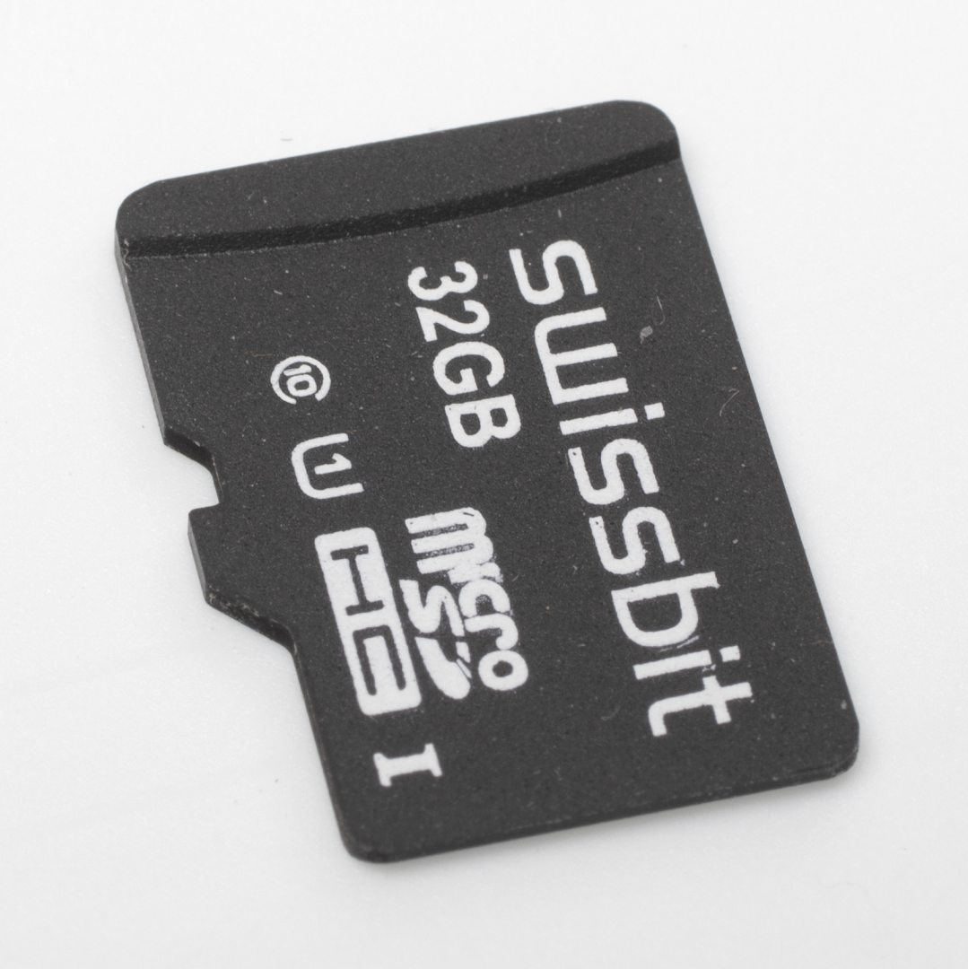 Swissbit S-45u industriele kaart industrie microSD test review