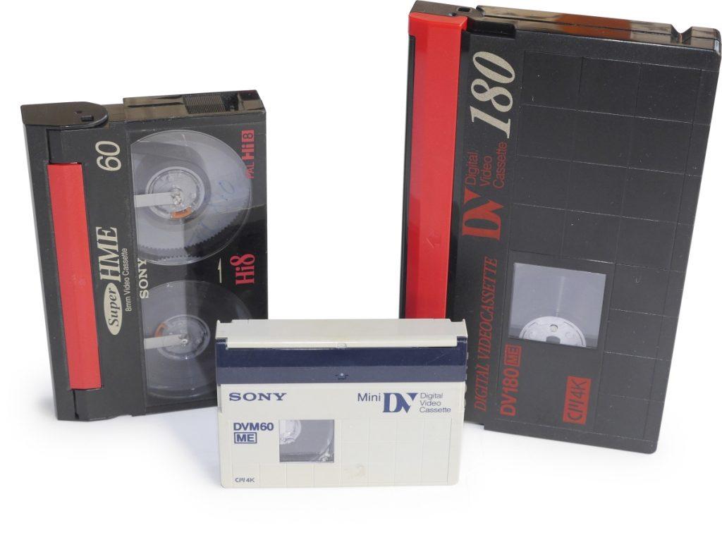 digitale video-opnames gegevensdragers