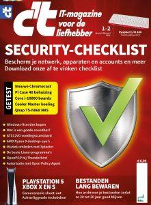 lezen tijdens de lockdown cover c't magazine 1-2 2020