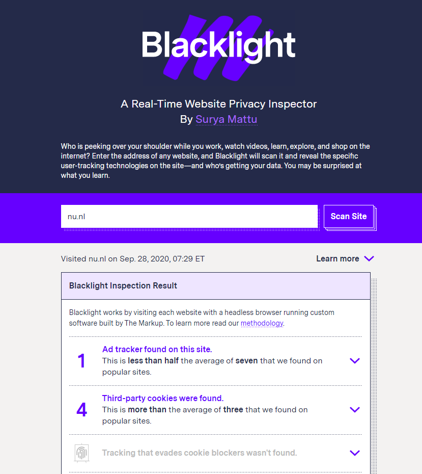 themarkup.org blacklight