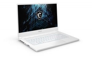 MSI Stealth 15M Pure White, MSI gaming-laptop