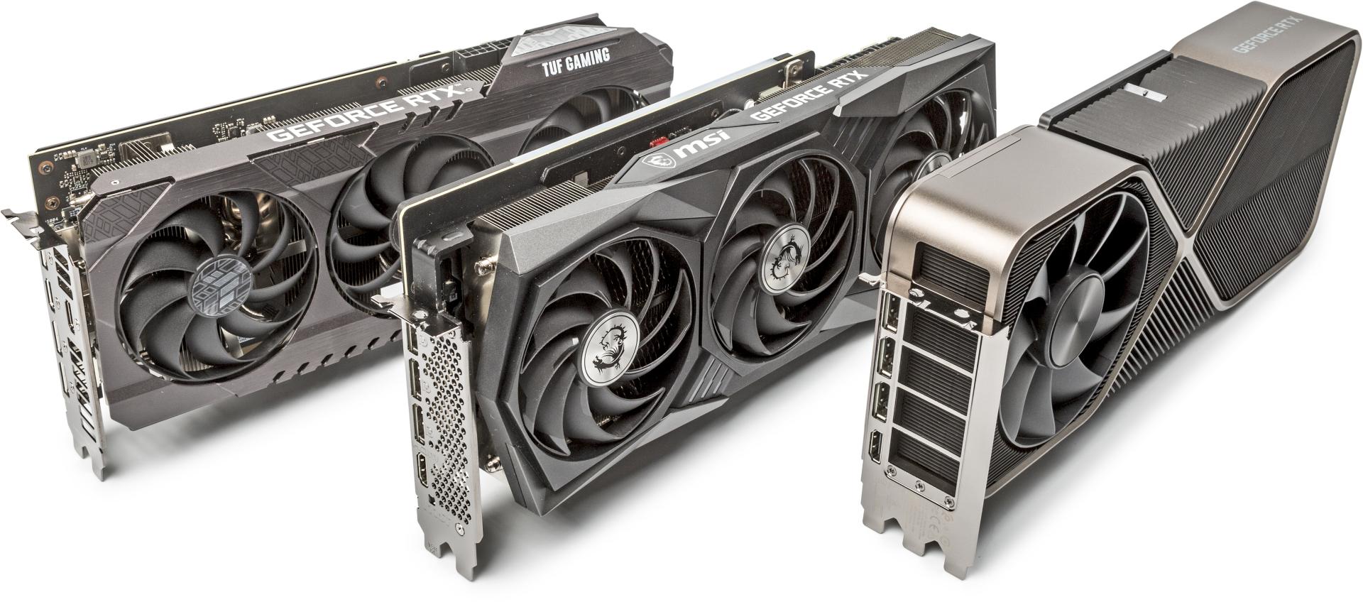 Nvidia GeForce RXT 3070, 3080, 3090 test benchmark