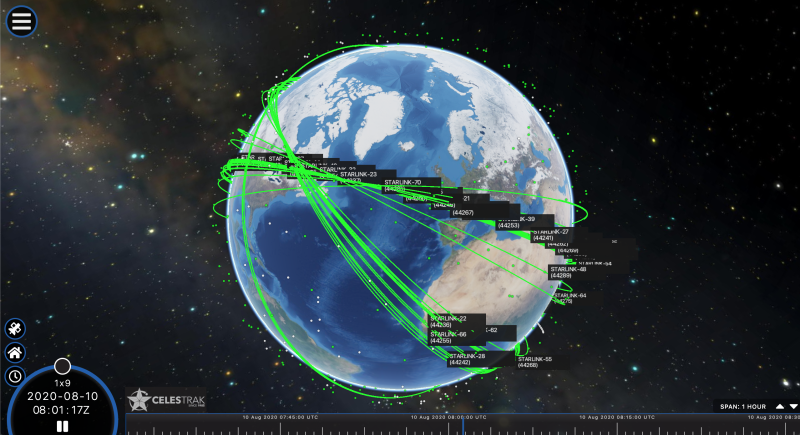 Starlink constellatie