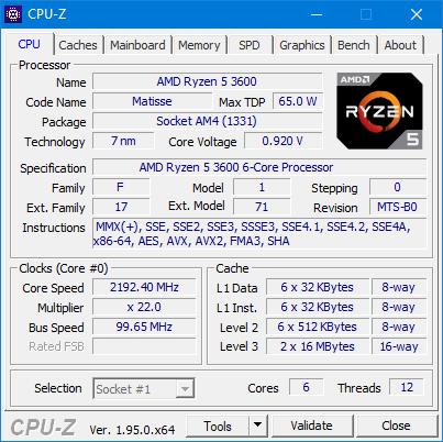 Microsoft Teams achtergrond AVX2 CPU-Z