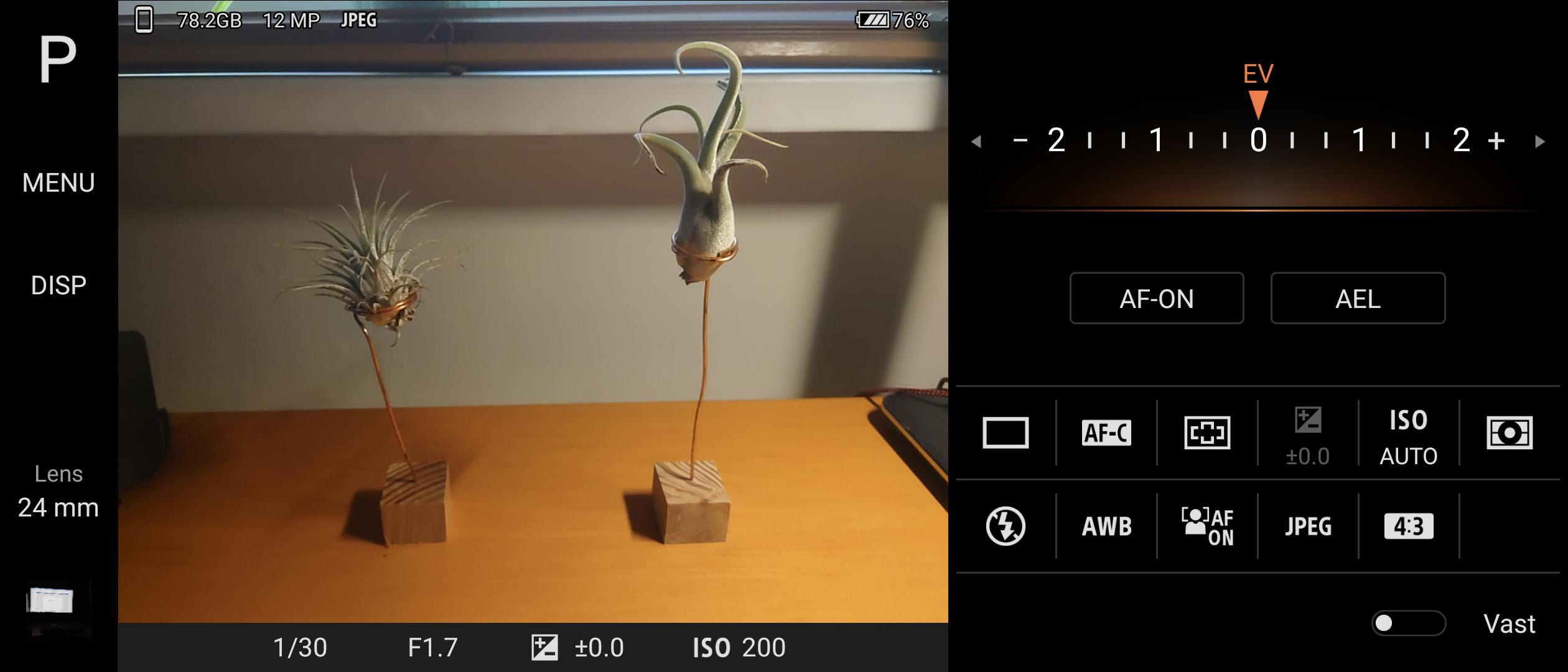 Camera Pro app Sony