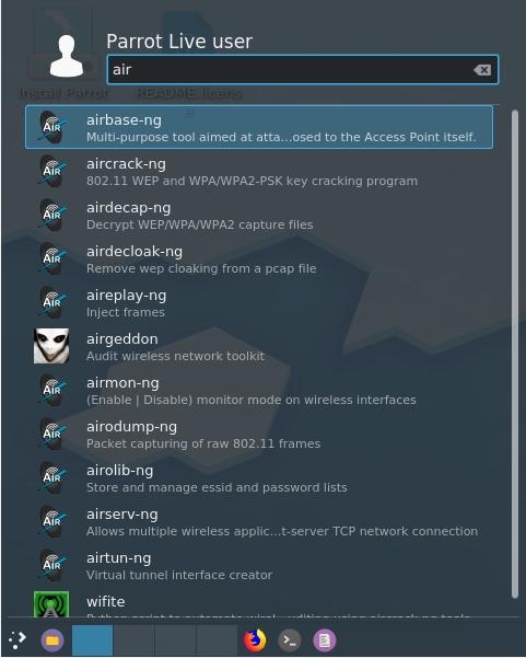 Parrot Linux