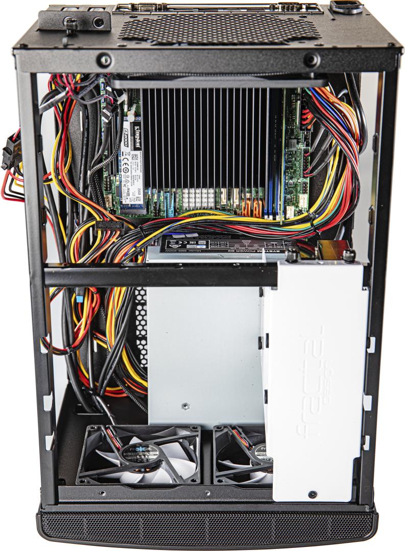 thuisserver behuizing kast mini ITX ventilatie