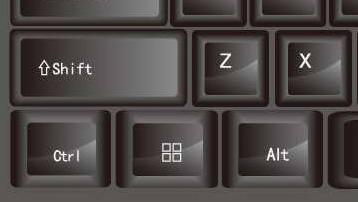 sneltoetsen of toetsencombinatie in Windows 10 met Ctrl Alt Shift Windows toets