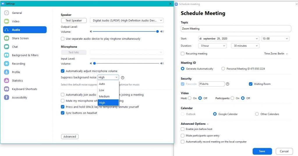 zoom videobellen meeting inplannen videoconferentiesoftware