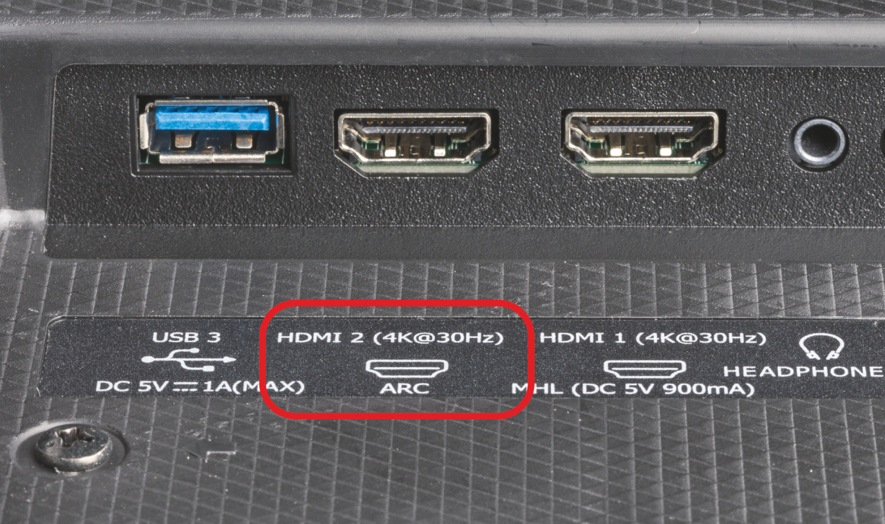 ARC eARC voor geluid van tv ontvangen doorgeven aansluiten