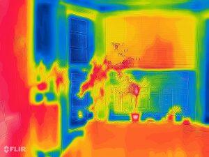 Cat S62 Pro; warmtefoto huis
