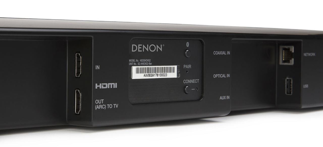 aansluitingen media streamer player hdmi netwerk wifi bluetooth bij soundbar