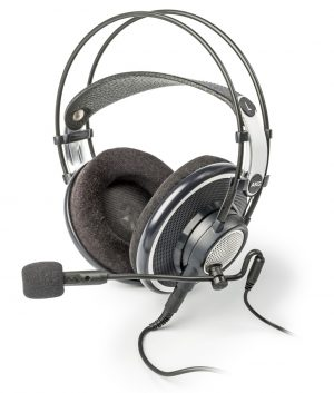 AKG K702 & Antlion Audio ModMic USB